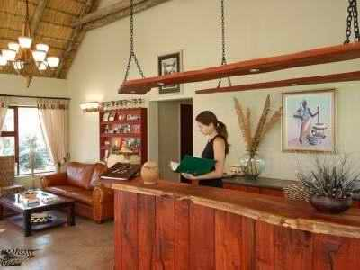 Frans Indongo Lodge Reception Area